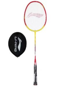 Li-Ning XP807 Multicolor Strung Badminton Racquet at rs.194