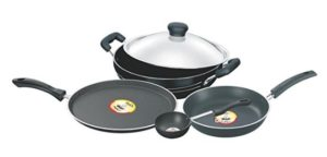 Pigeon Emarald Non-Stick Gift Set, 5 Pieces at rs.1,246