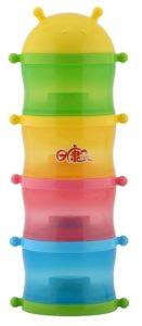 Rikang Four Layer Formula Container (Multicolor)