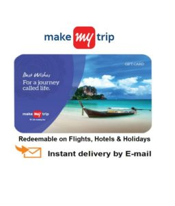Snapdeal- Buy MakeMyTrip E-Gift Card