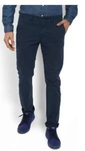 Solly Jeans Co Regular Fit Men's Dark Blue Trousers
