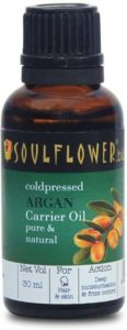 Soulflower Coldpressed Argan Carrier Oil