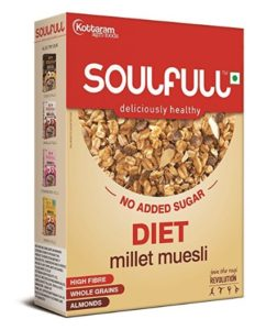 Soulfull Diet Millet Muesli, 400g at rs.163