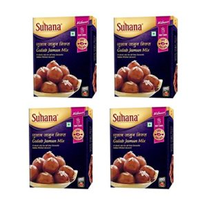 Suhana Gulab Jamun Mix 150g Box Pack Of 4