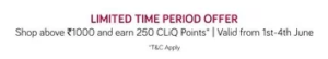 TATA CLIQ POINTS