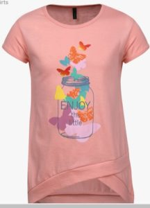 United Colors of Benetton Pink Casual Top