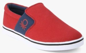 United Colors of Benetton Red Sneakers