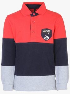 United Colors of Benetton Red Polo T-Shirt