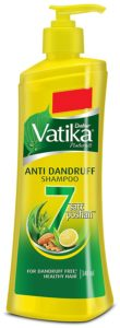 Vatika Anti Dandruff Shampoo, 340 ml
