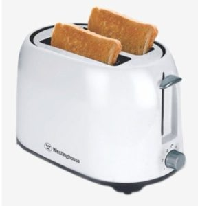 Westinghouse T02WPP-CT 750 W Pop-up Toaster (White)
