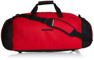 Amazon - Buy Wildcraft Polyester 33 cms Red Travel Duffle at Rs. 597