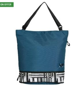 Wildcraft Women Casual Blue Nylon Sling Bag at rs.599