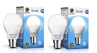 Wipro Tejas 9W LED Bulb - Pack of 2