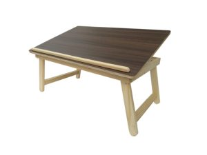 Wood-O-Plast TAB2 Multipurpose Table (Matte Finish, Brown)