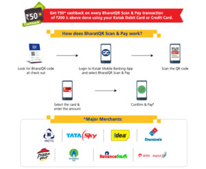 kotak scan n pay