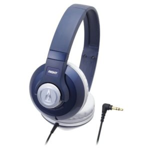 Amazon - Buy Audio-technica STREET MONITORING Portable Headphone ATH-S500 NV (Navy)  at Rs 1423