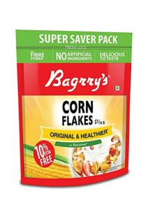 Amazon - Buy Bagrrys Corn Flakes, 800g (with Extra 80g) at Rs 170 only
