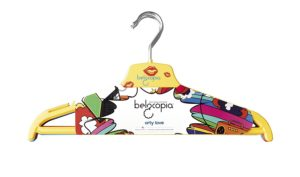 Amazon - Buy Belocopia Inlove 6 Piece Plastic Hanger, Assorted Colors at Rs. 109