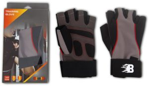 Amazon - Buy Burn Training Gloves (BlackBrown)  at Rs 210 only