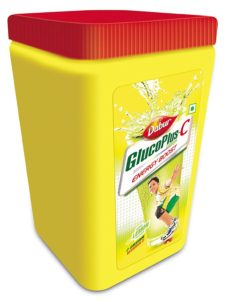 Amazon - Buy Dabur Gluco Plus C Energy Boost Lemon - 400 g Jar at Rs 107 only