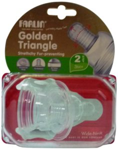 Amazon- Buy Farlin Stretchy Anti Colic Fur Preventing Medium Size Nipple for Wide-Neck  at Rs 86