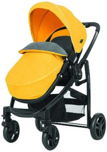 Amazon - Buy Graco Evo Stroller- Mineral Yellow at Rs 8287