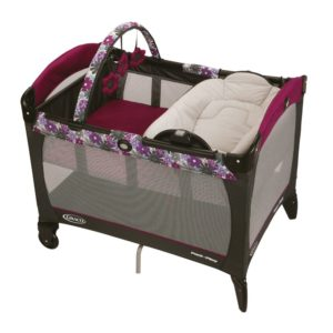 Amazon - Buy   Graco Pack N Play Rev Napper Portia (Black)  at Rs 7699