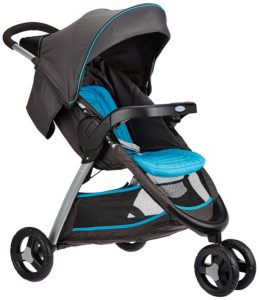 Amazon - Buy Graco Stroller Fast Action Fold Ocean Grey (Ocean GrayBlack)  at Rs 7209