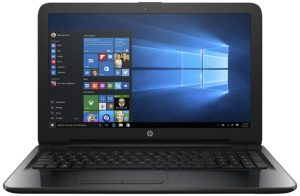 Amazon - Buy HP 15-bg007AU 15.6-inch Laptop (AMD A6-73104GB500GBWindows 10 HomeIntegrated Graphics), Sparkling Black  at Rs 20999