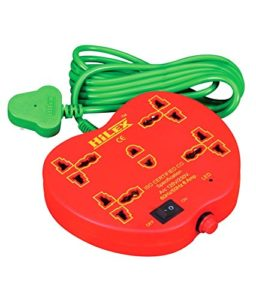 Amazon - Buy Hilex 5+1 apple shape Extension cord with 2.75 Meter wire (3 Pin and 2 Pin) at Rs 189