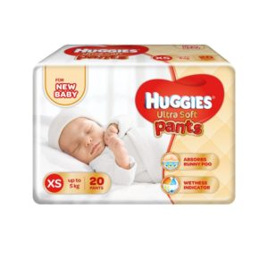 Amazon - Buy Huggies Ultra Soft XS Size Diaper Pants (20 Count) at Rs 73.5