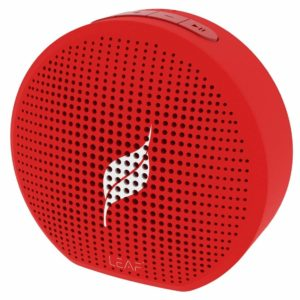 Amazon - Buy Leaf Pop Portable Wireless Bluetooth Speaker with Mic (Ferrari Red) at Rs 1299