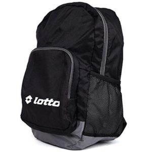 Amazon - Buy Lotto 25 Ltrs Black Grey Laptop Backpack  at Rs 467