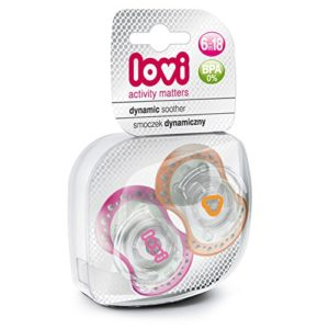 Amazon - Buy Lovi 22808G Dynamic Spark Soother - 2 Pieces (PinkOrange) at Rs 108 only