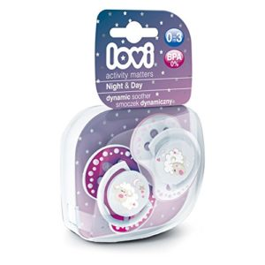 Amazon - Buy Lovi 22809P Dynamic Soother - 2 Pieces (Pink)  at Rs 134
