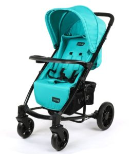 Amazon - Buy Luvlap Elite Baby Pram Stroller (Sea Green) at Rs 4782