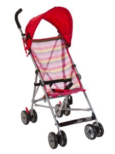 Amazon - Buy Mee Mee Baby Stroller (Red) at Rs. 1586