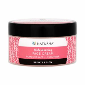 Amazon - Buy Naturma Pomegranate and Cucumber Face Cream, Natural and Organic, Morning Radiate Glow, 50gmat Rs 277
