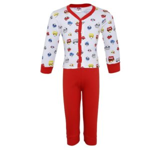 Amazon - Buy Night Wear for Kids Toddlers - Night suit - Pyjama Shirt Combo Set at Rs 199 only