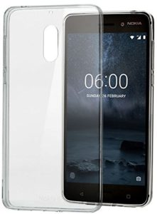 Amazon- Buy Nokia CC-101 Slim Crystal Cover for Nokia 6 (Clear) at Rs 66