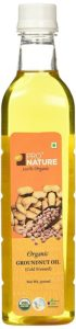 Amazon - Buy Pro Nature 100% Organic Groundnut Oil, 500ml  at Rs 110 only