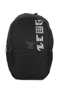 Amazon - Buy Reebok Synthetic 52 cms Black Children'S Backpack  at Rs 573