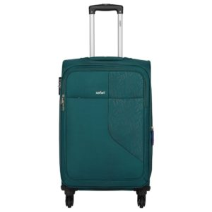 Amazon - Buy Safari Fabric 78 cms Teal Soft Side Suitcase at Rs 2975