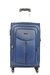 Amazon - Buy Safari Polyester 54.5 cms Blue Softsided Carry-On at Rs 2207