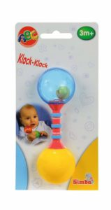 Amazon - Buy Simba Abc First Rattle, Yellow at Rs 88 only