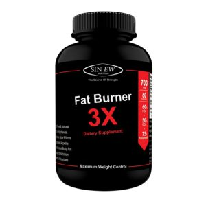 Amazon - Buy Sinew Nutrition Natural Fat Burner 3X (Green Tea, Green Coffee & Garcinia Cambogia Extract) - 700 mg (60 Veg Capsules) at Rs 269 only