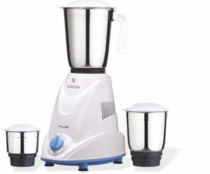 Amazon - Buy Singer Riyo Dx 500 Watt Copper Motor Mixer Grinder with 5 Years Warranty at Rs 2180 only