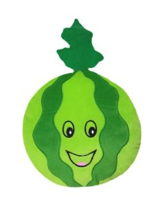 Amazon - Buy Soft Buddies Watermelon Fruit Playtoy, Green  at Rs 104