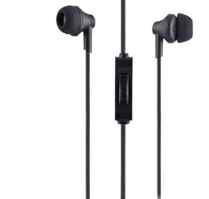 Amazon - Buy Sound One 616-P Earphone With Mic, 3.5 Mm Jack For All Android ,Ios Smartphones (Black) at Rs. 449