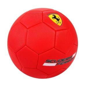 Amazon - Buy Swagspin Licensed Ferrari Red Football Soccer Balls Size-5 Club Team Sports at Rs 999 only